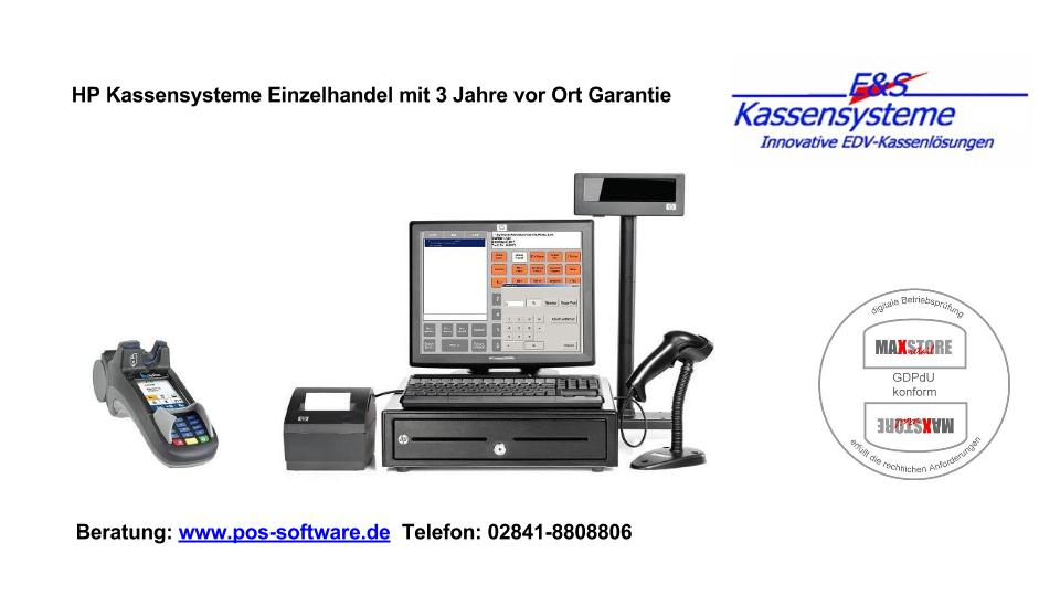 Kassensysteme, Kassensystem, Kassenhardware, E+S Kassen