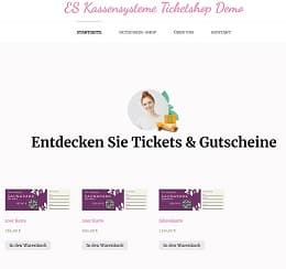 Ticketsysteme für Museen, Freizeitparks, Saunaparks, Indoor Spielplätze, Kletterhallen, Touristinformation, Eishallen
